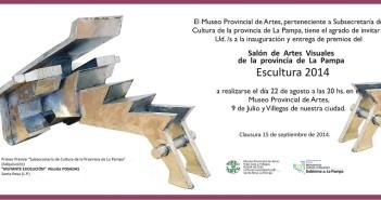 Invitación Salón ESCULTURA 2014