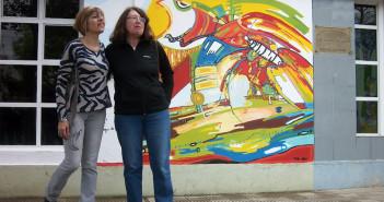 Alicia Malerba y Dora Rossi