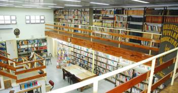 La Sala Mayor de la Biblioteca Estrada