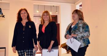 Integrantes del jurado: Lilian Martín, Silvia Fuganti y Gladys Quiroga.