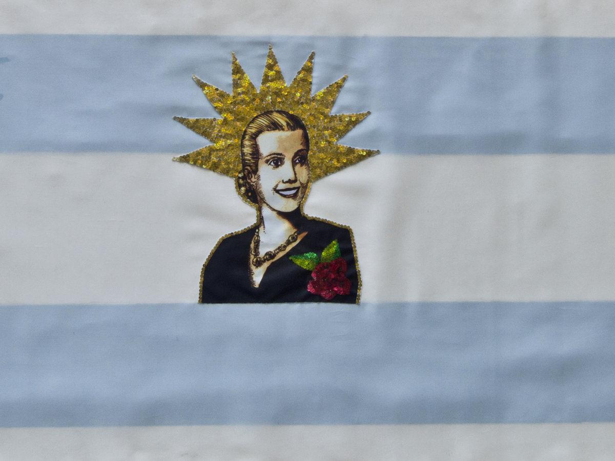 """Eva Perón"", de Mary Tapia."