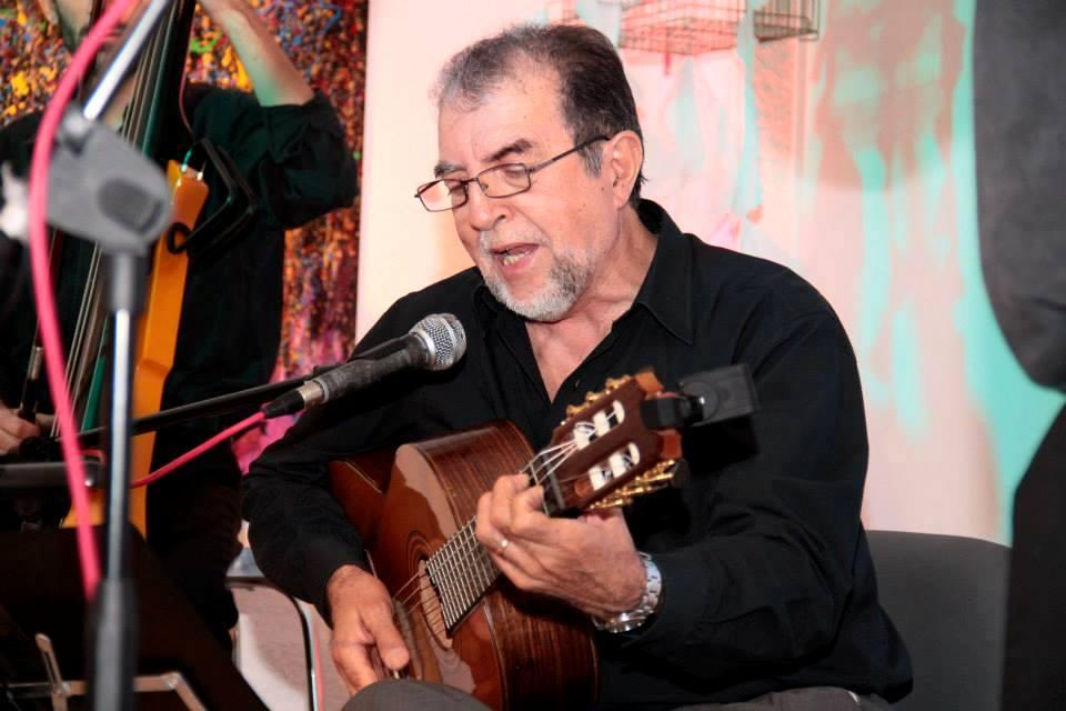 El cantautor se lució con una actuación soberbia (Foto Casa de La Pampa).
