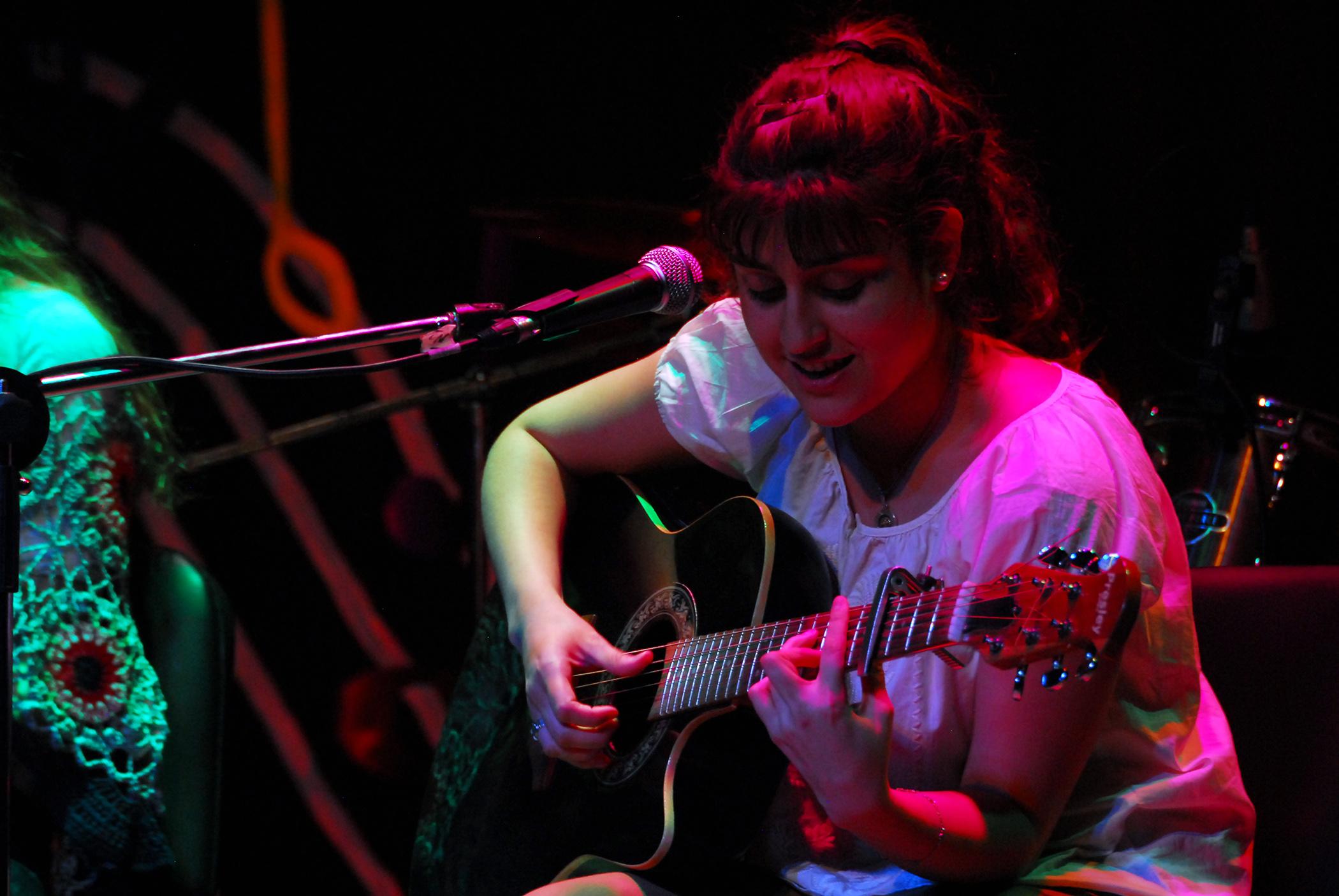 Clara Laztra (Foto Pablo Rivero Maldonado).