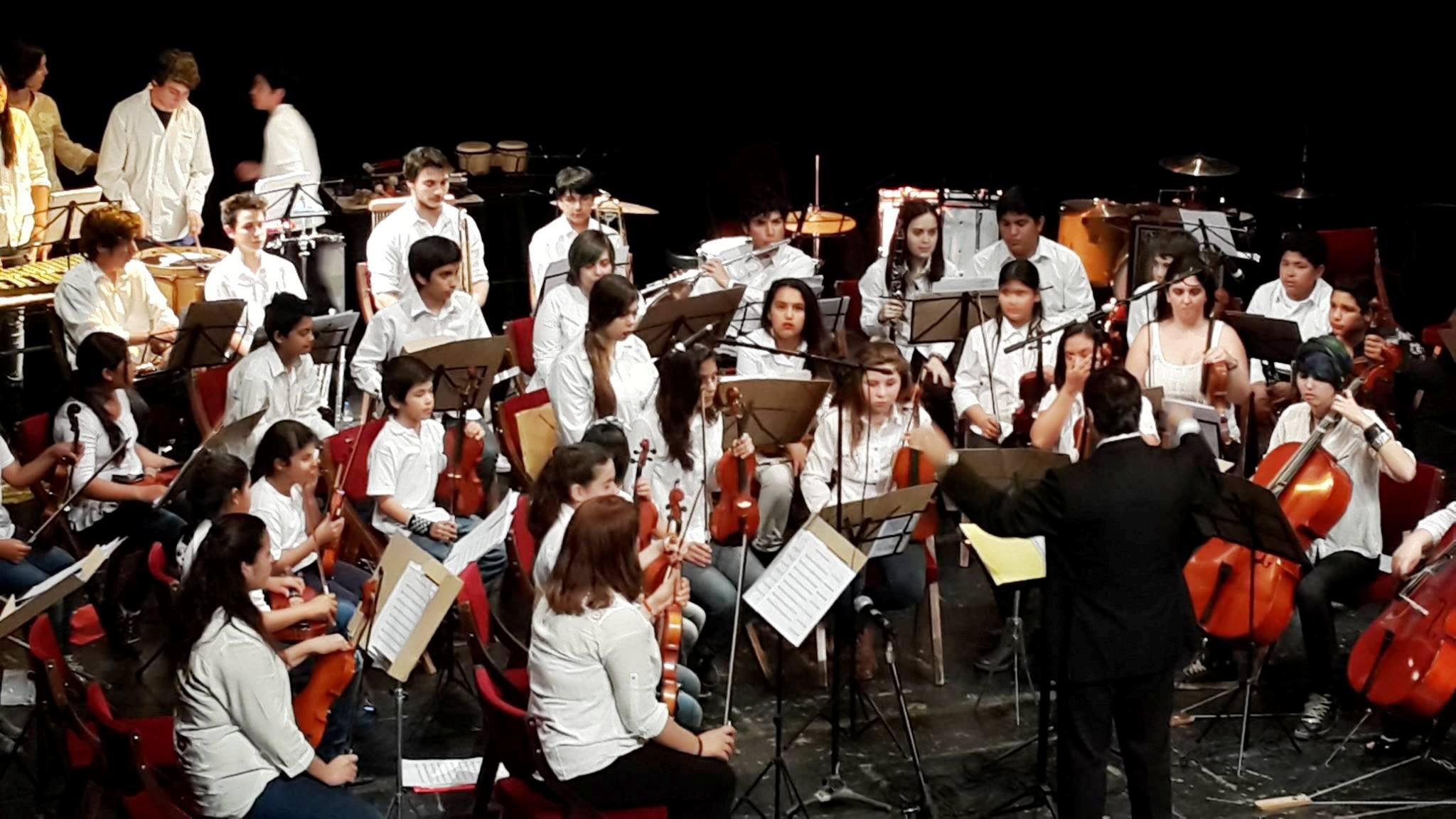 Orquesta Infanto Juvenil de General Acha.