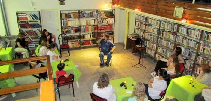 Cierre del Taller de narración en la Bilbioteca Estrada