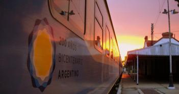 Atardecer tren Pico-