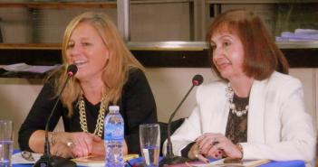 Analía Cavallero y Diana Blanco (foto Facebook)