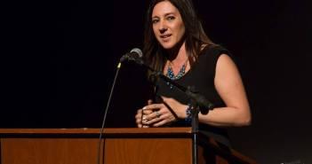 Gabriela Radice en la primera noche del festival