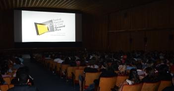 Una de las anfitrionas, la sala del Cine Gran Pampa