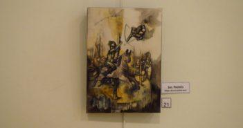 """Calesita"" (mixta), de Adriana Garbarino (La Pampa). Tercer premio."
