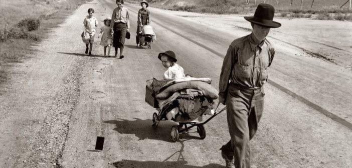 Gran Depresión. Fotografía de Dorothea Lange.