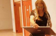 Andrea Elizondo, grabadora piquense