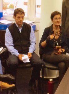 Adriana Maggio se reunió con el diputado Ariel Rauschenberger