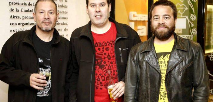 Sumo Martínez, Juan Otto y Pancho Etcheberry, de Las Flores del Muerto.