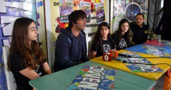 Jorge Epifanio estuvo acompañado por Ezequiel Monteagudo e integrantes de Las Porras.
