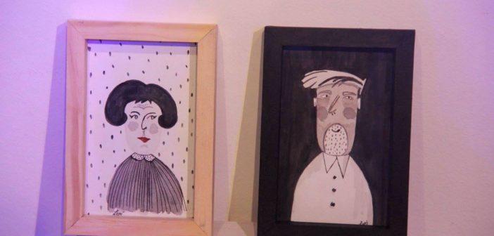 Muestra de arte y fotografía de artistas emergentes.
