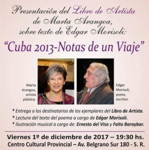 Marta Arangoa y Edgar Morisoli