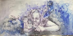 Dibujo de Adriana Garbarino