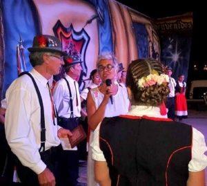 Maggio en el escenario Fiesta Regional de la Gastronomía y Danza Alemana