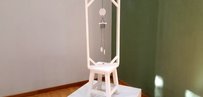 """""""Llamador de ausentes"""" (escultura), de Rosa Audisio."""
