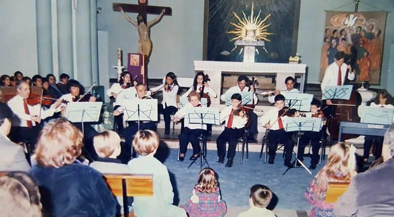 La noche del 31 de mayo del 98. La primera vez de la Orquesta de Cámara.
