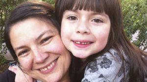 Lucia y su madre