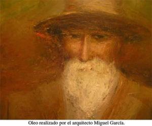 Óleo de Yancamil de Miguel García