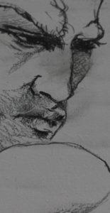 Mandragora. Dibujo serie Seres Iamginarios