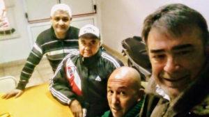De derecha a izquierda. Daniel González-Carlos Ruíz-Aldo Iranzo y Hugo de Dios.