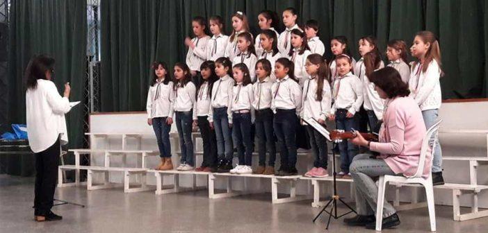 Coro Municipal de Niños de Intendente Alvear.