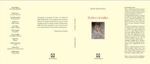 Libro Barrenechea 6 - De claros y de sombras (tapa y contratapa)