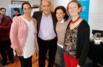 Pte. CONABIP y autoridades La Pampa