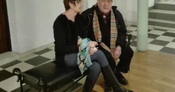 Adriana Maggio junto a Edgar Morisoli