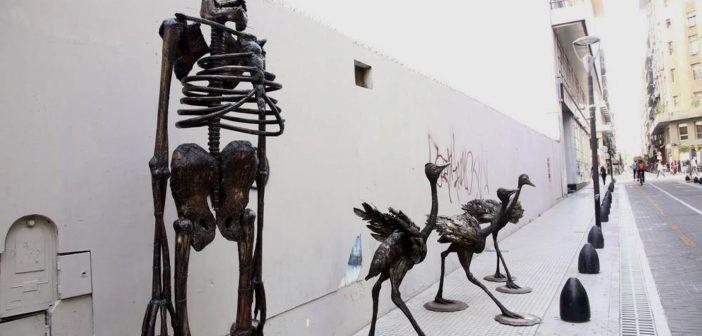"""""""Mito esculturas, arrebato y tempestad"""", de Rubén Schaap"""