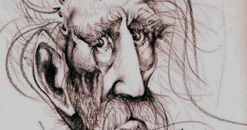 Macedonio Fernández. Del dibujante Héctor Valentini.
