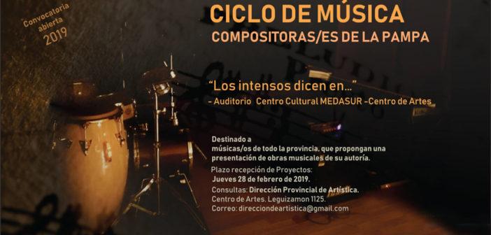 Ciclo de Música de Compositores de La Pampa 2019