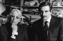 Fernando Sorrentino con Silvina Ocampo en 1988