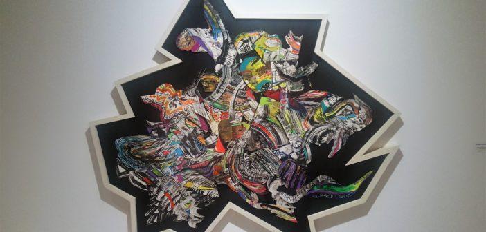 """""""El estricto orden de las cosas"""" (2006). Técnica mixta sobre papel."""