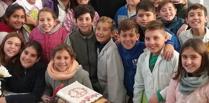 La secretaria de Cultura Adriana Maggio, visitó Intendente Alvear