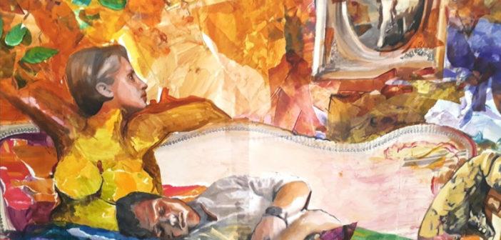 Talleres de intervención a cargo de Pablo Salazar en el marco de la exposición de Adriana Garbarino