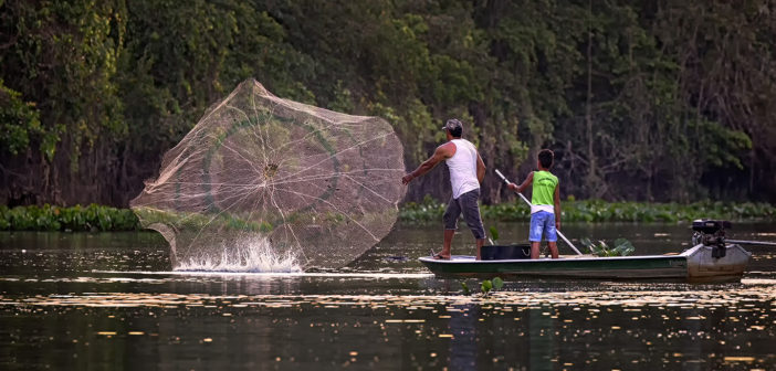 """""""De oficio pescador"""", de Jorge Dal Bianco."""