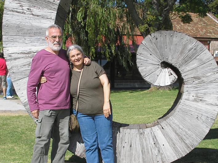 Fernando Delgado con Valeria Assenza Parisi