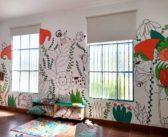 Muralismo joven invadió la Biblioteca «Renovación»