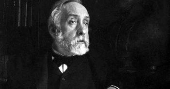 Edgar Degas. Autorretrato (fotografía). 1895.