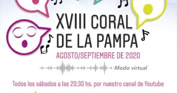 El XVIII Coral de La Pampa este año se realizará en modo virtual