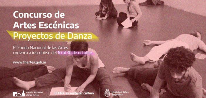 El FNA lanza el Concurso Proyectos de Obra de Danza