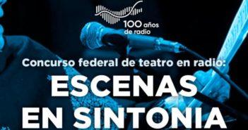 """Concurso Nacional de Teatro en Radio: """"Escenas en sINTonía"""""""