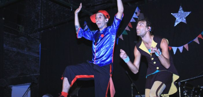 «Es un placer enorme poder presentarnos en una carpa de circo»